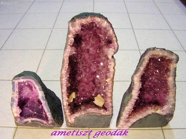 Amethyst geode - Rio Grande do Sul, Brazil