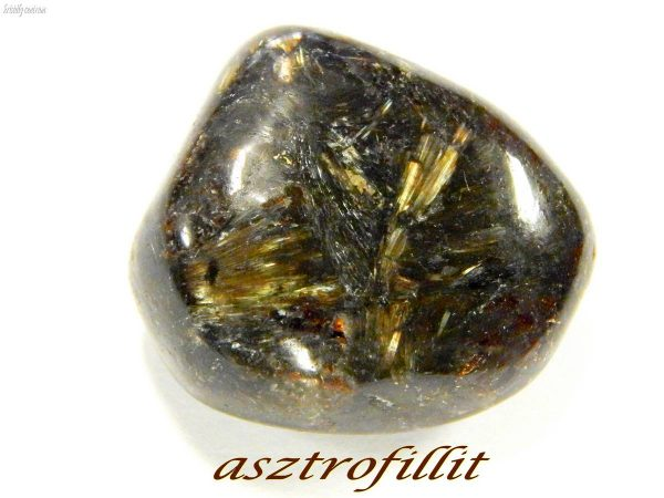 Astrophyllite tumbled stone
