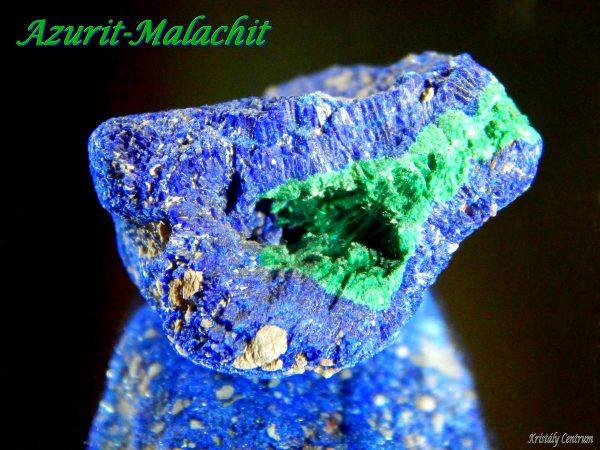 Azurite-malachite