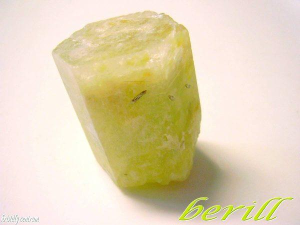 Beryl crystal