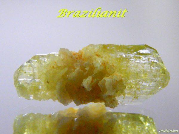 Brazilianite - Linópolis, Minas Gerais, Brazil