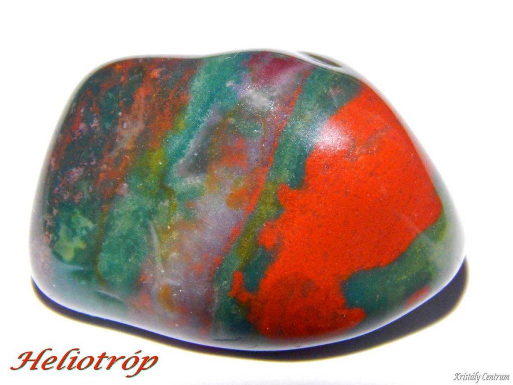 Heliotrope (bloodstone)