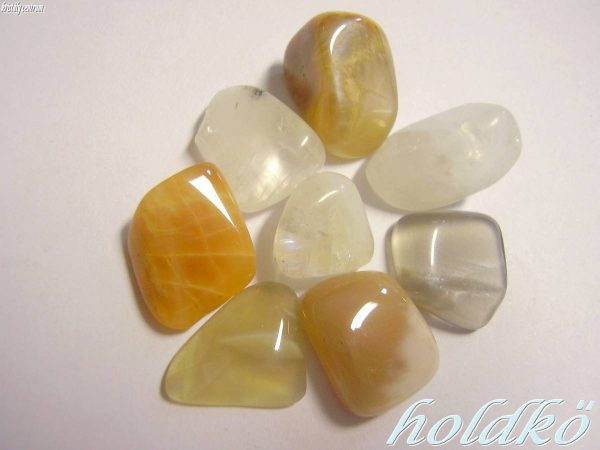 Moonstone tumbled stones - India