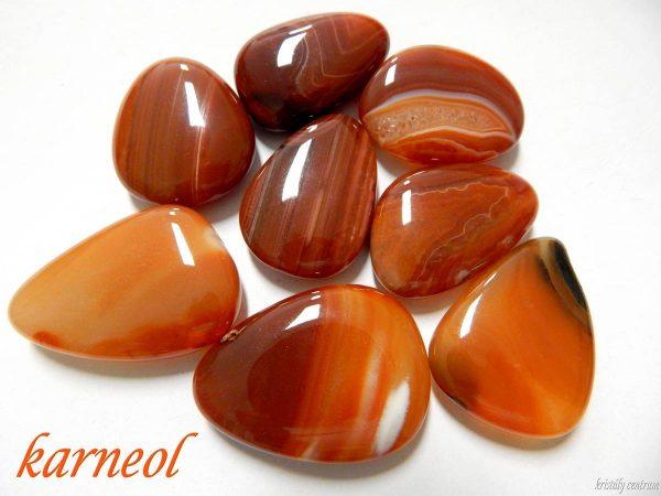 Carnelian - Tumbled stones