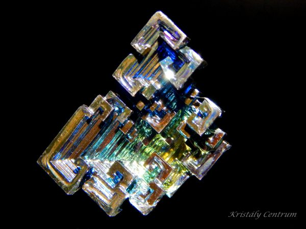 Bismuth grown crystal