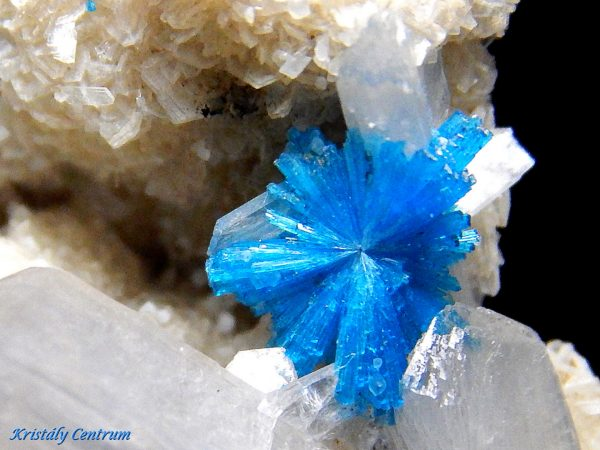 Cavansite, stilbite - India