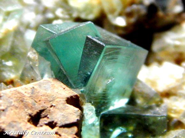Fluorite - Blue Circle Mine, Eastgate, Weardale, Durham, England, UK