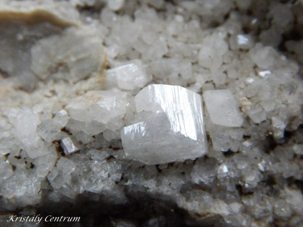 Harmotome - Clashgorm new mine, Strontian, Argyll, Scotland