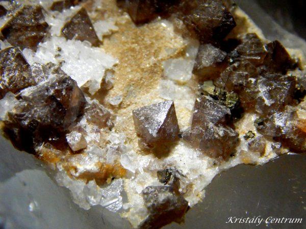 Scheelit kristályok