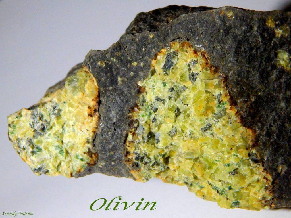 Olivin (Peridot,Krizolit)
