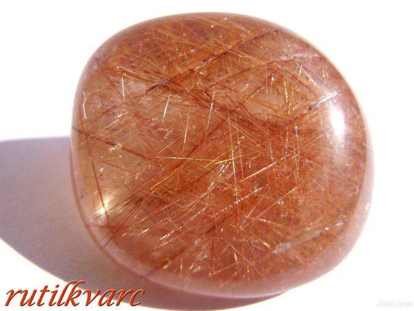 Rutile quartz - Tumble stone