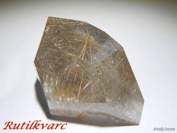 Rutile quartz polished - Brazil