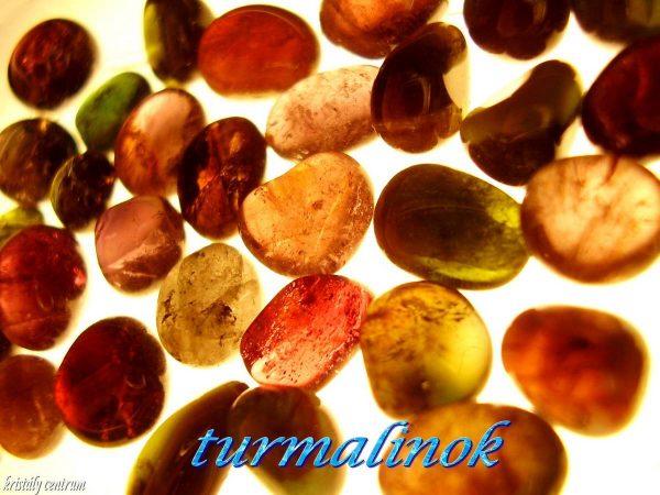 Tourmaline tumbled stones